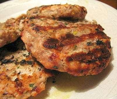 turkey burger healthy recipe