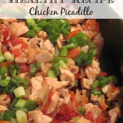Healthy Recipe – Chicken Picadillo