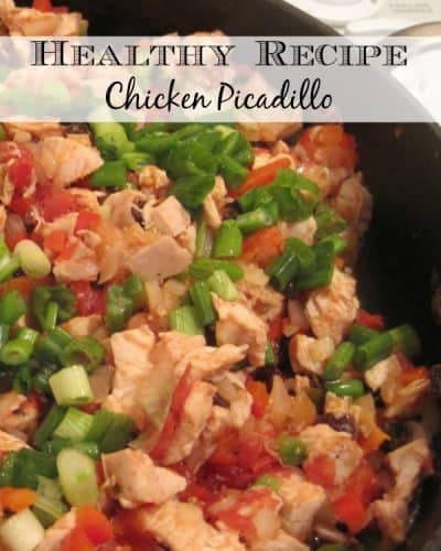 Healthy Recipe – Chicken Picadillo