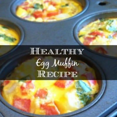 healthy egg muffin recipe