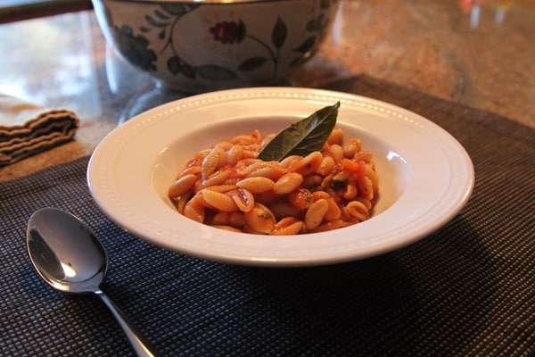 Foodie Friday, Healthy Pasta Fagioli