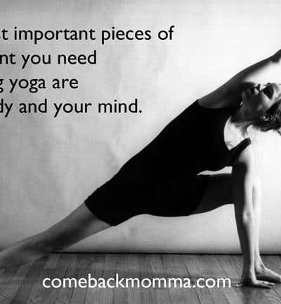 Yoga mind and body connection