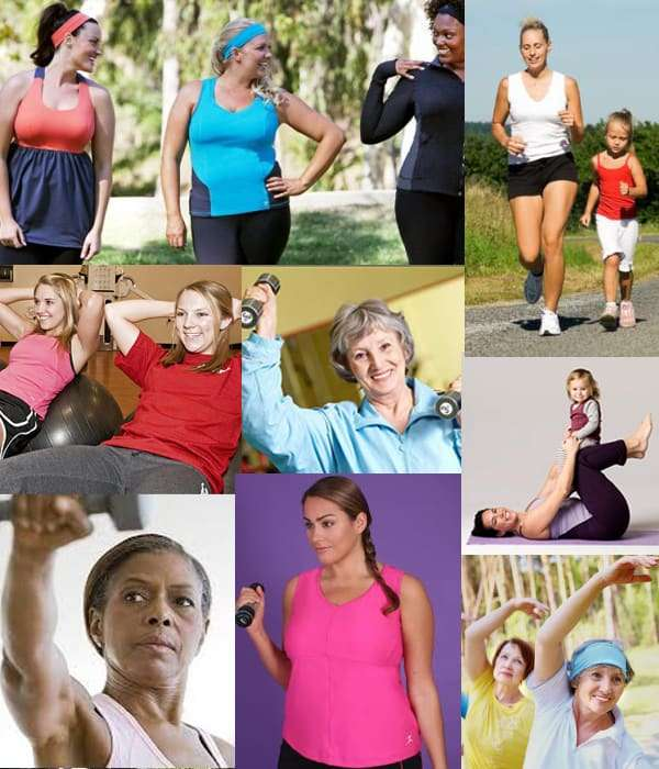 Wordless Wednesday - Beautiful Fitness - Comeback Momma