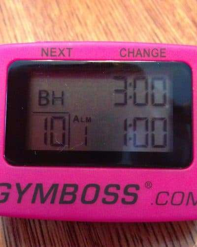 gymboss interval timer review and giveaway