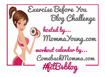 Exercise Before You Blog Challenge