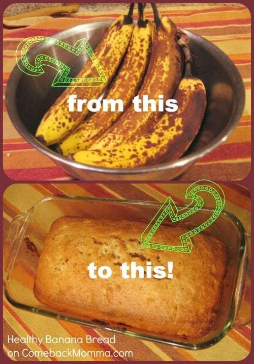 Healthy Recipe: Banana Bread