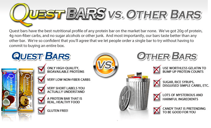 Quest Protein Bars Review #onaquest