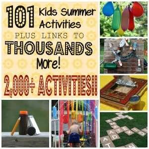 101 Kids Summer Activities