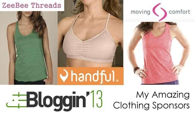 Sportwear Sponsors for Fitbloggin 13