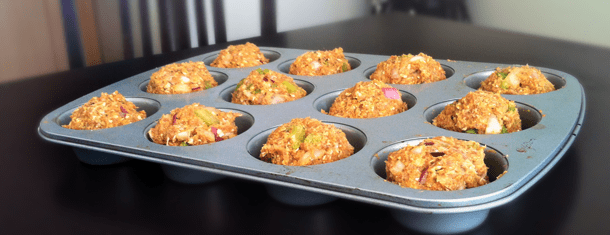 Healthy Recipe: Italian Turkey Muffins