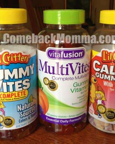 Gummy Vitamins for the Entire Family