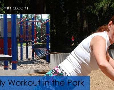 Full Body Workout in the Park
