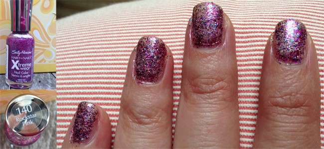 nail fashion with Sally Hansen