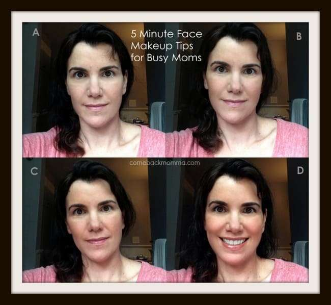makeup tips for 5 minute face