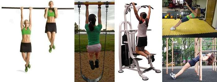examples of pull up techniques