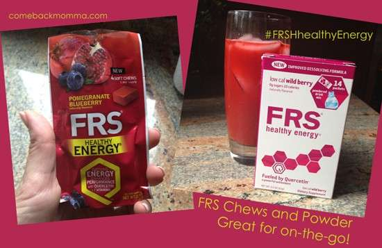 FRS Energy Chews and Powder