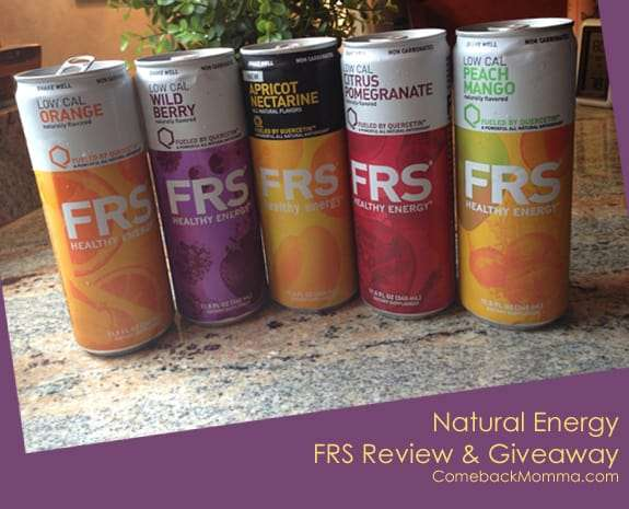 Healthy Energy Boost with FRS
