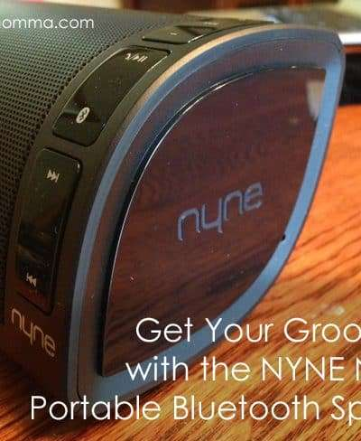 NYNE NB 200 Portable Bluetooth Speaker Review and Giveaway