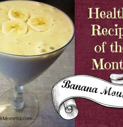 Healthy Recipe: Banana Mousse