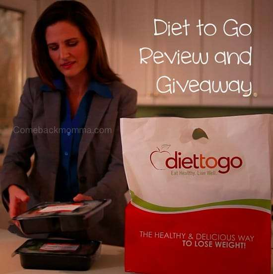 Healthy Diet Meals from Diet to Go