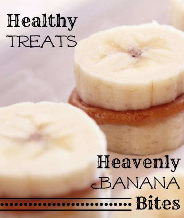 healthy treat - heavenly banana bites