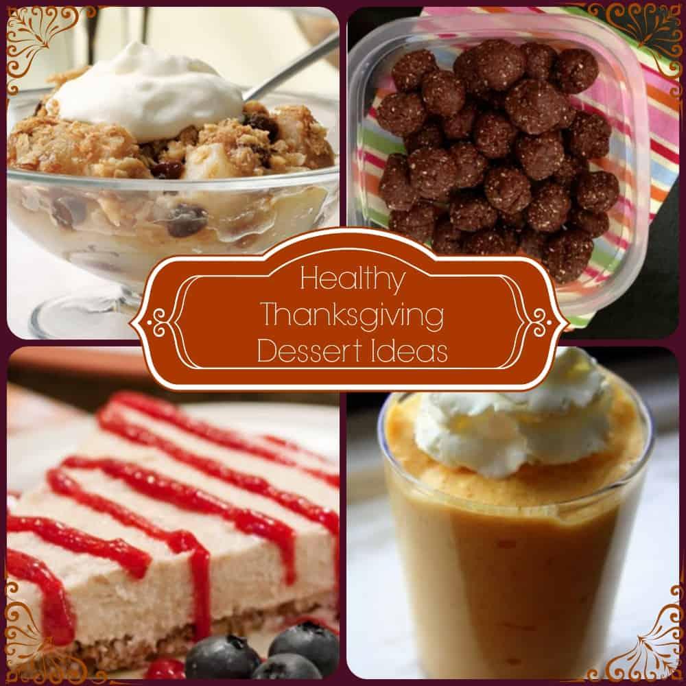 Healthy Thanksgiving Dessert Ideas