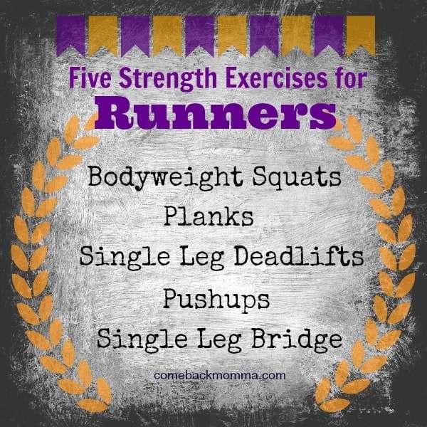 5 strength exercises for runners