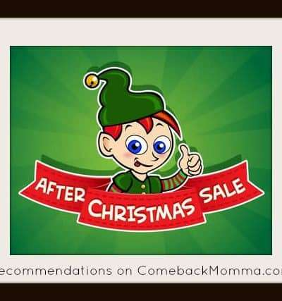 After Christmas Sales - recommendations on ComebackMomma.com