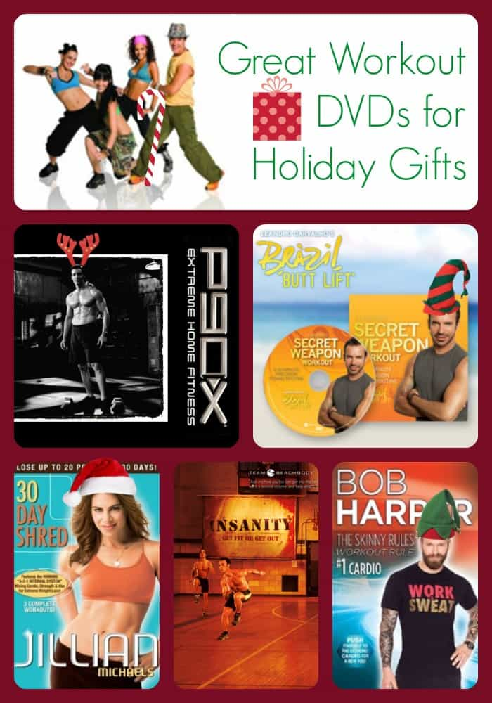 Workout DVDs for Holiday Gifts