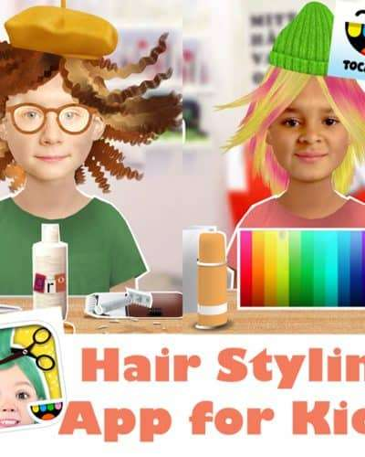 Toca Boca Hair Style Me App for Kids