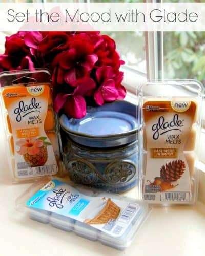 Set the Mood With Glad Wax Melts #cbias #ad #MeltsBestFeelings