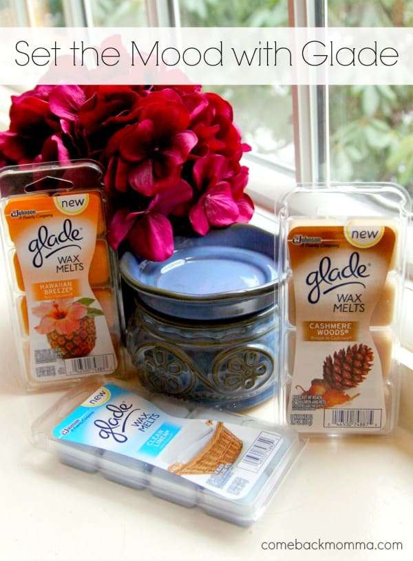 Set the Mood With Glad Wax Melts #cbias #ad #MeltsBestFeelings