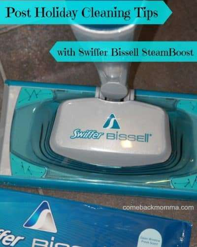 Cleaning Tips Featuring Swiffer Bissell #steamboost #ad