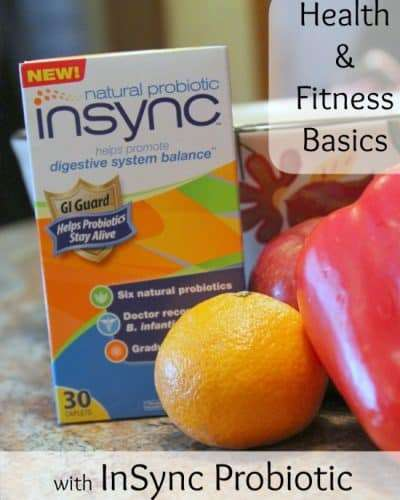Health and Fitness Basics with InSync Probiotic #NaturalProbiotic #shop