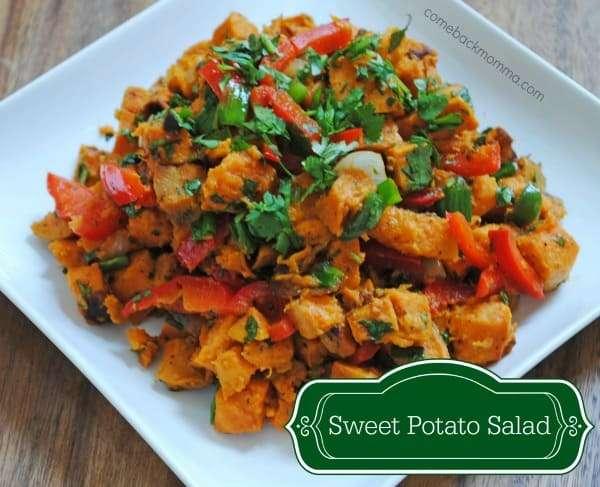 Healthy Recipe: Sweet Potato Salad - Comeback Momma