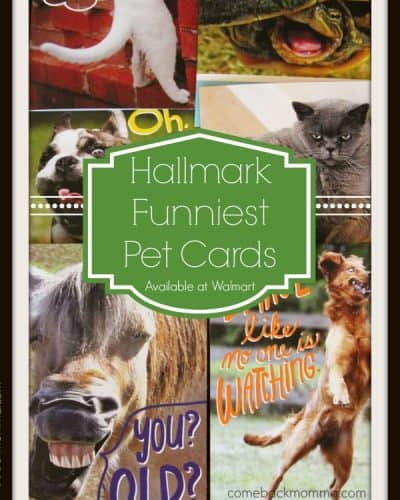 Hallmark Funniest Pet Cards at Walmart #FunnyPetCards #shop