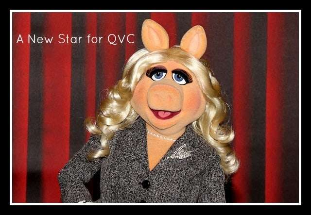 Miss Piggy on QVC