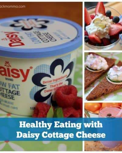 Experience the #DaisyDifference using Daisy Cottage Cheese for Healthy Eating #ad