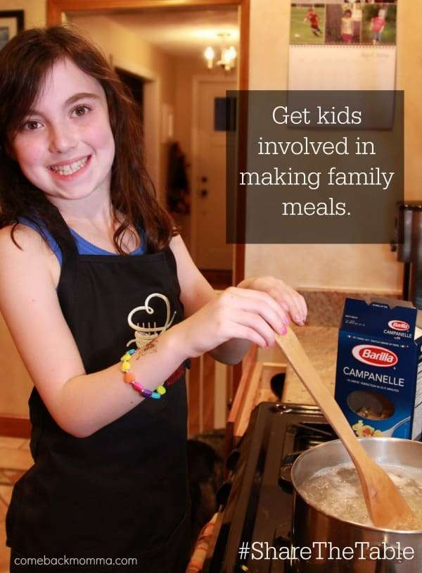 Help Feed America When You #ShareTheTable for Family Meals with Barilla #Sponsored