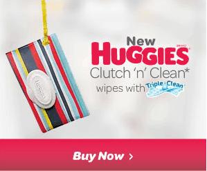 Buy Huggies Clutch n' Clean Wipes