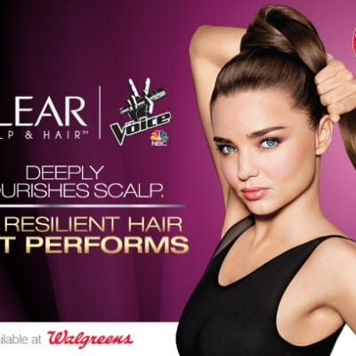 Free Song Downloads from NBCs The Voice with Walgreens Clear Hair and Scalp promo