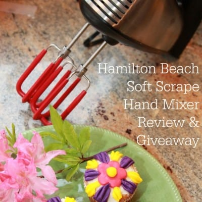 Hamilton Beach Hand Mixer Review and Giveaway