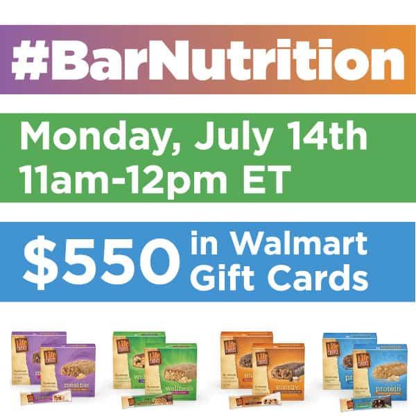 #BarNutrition-Twitter-Party-7-14