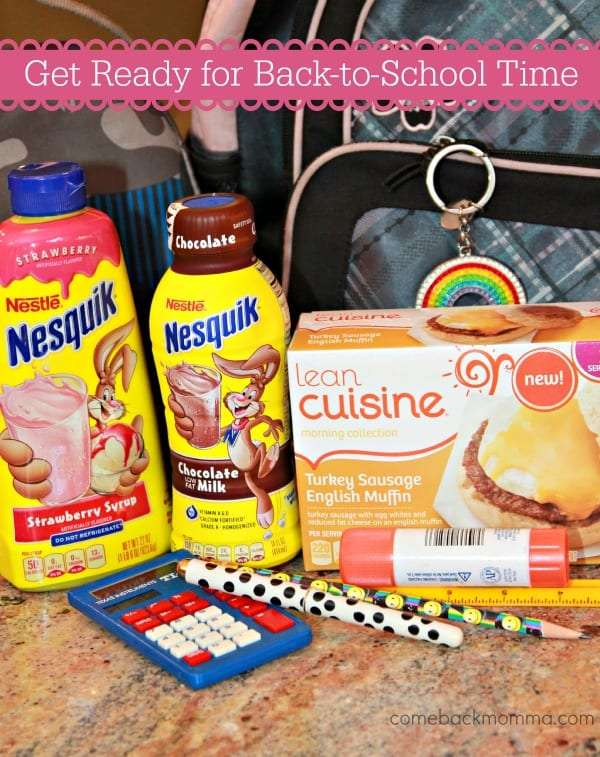 Get Back to School Ready with Lean Cuisine & NESQUIK #FoodMadeSimple #Shop