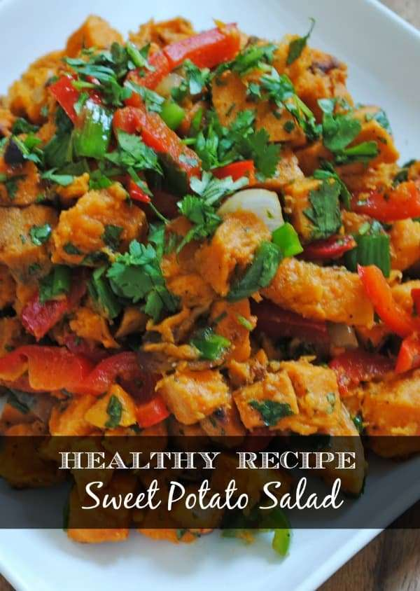 healthy recipe for sweet potato salad