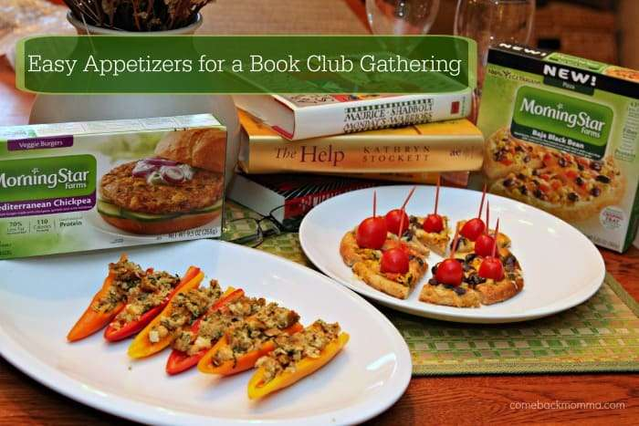 Easy Appetizers for a Book Club Gathering