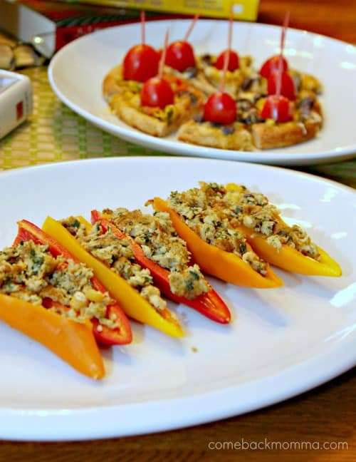 Easy vegetarian appetizers for a book club gathering comeback momma appetizers forumfinder Choice Image
