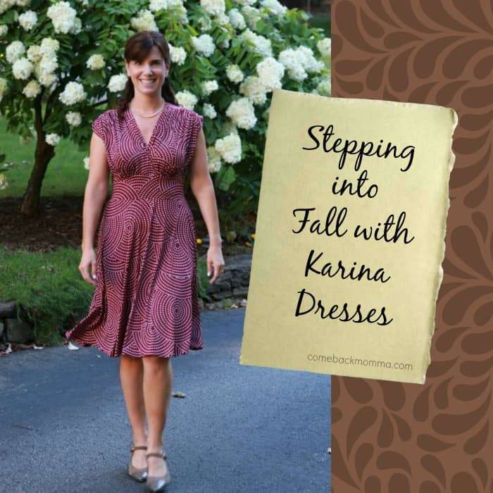 Stepping into Fall with Karina Dresses