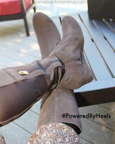 Comfortable Boots with Style by Rockport #poweredbyheels