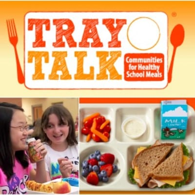 Tray Talk Supporting Healthy School Meals